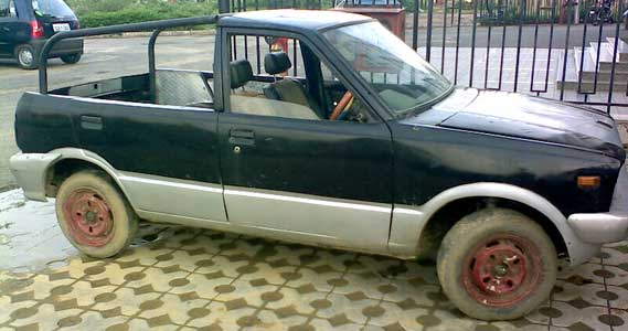 Maruti 800 Pick up car