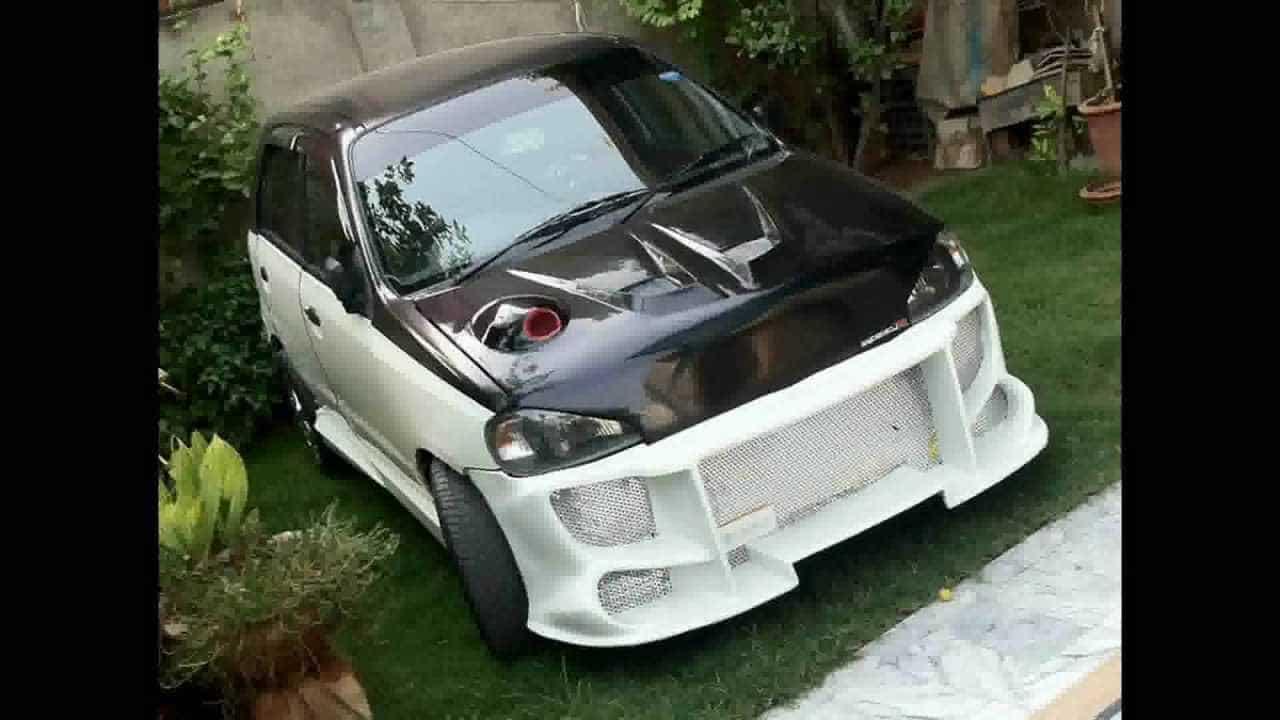 Maruti 800 Racing mod