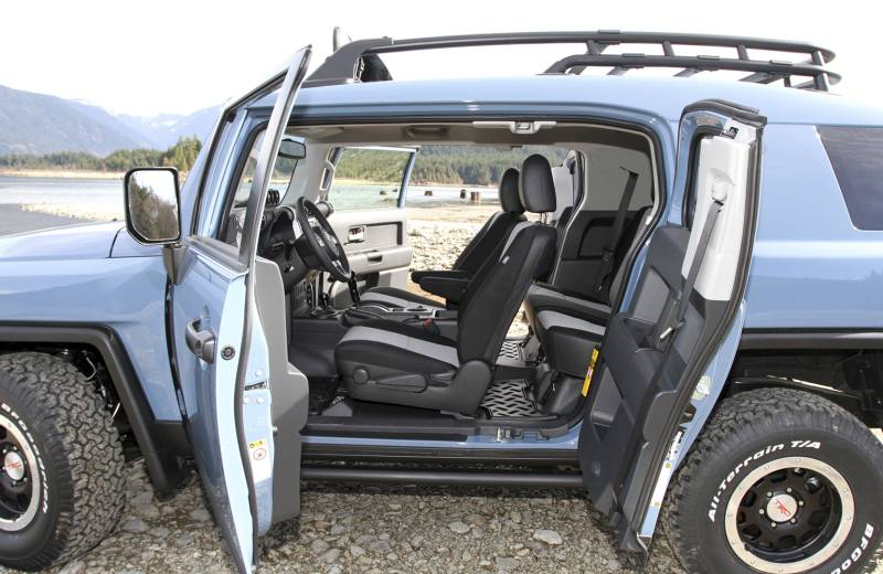 Toyota SUV Seating
