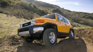 Toyota SUV off road