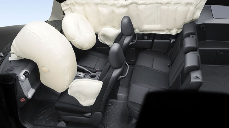 Toyota fj cruiser interior airbags