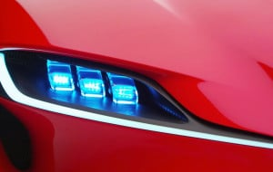 Toyota FT Headlight