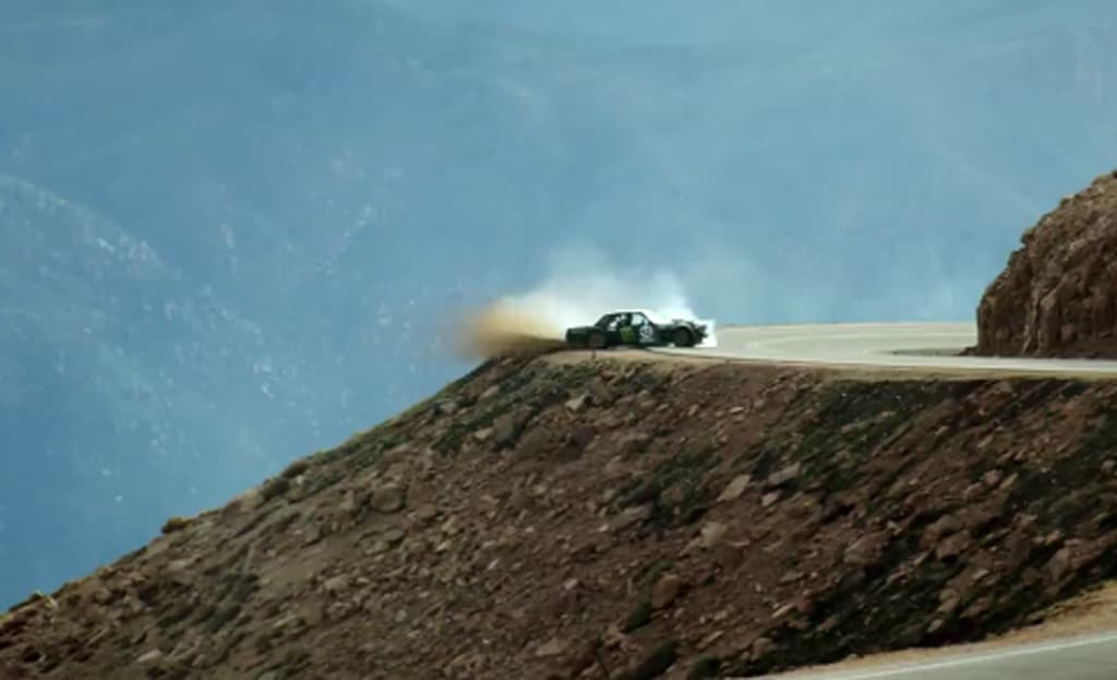 Ken Block's Climbkhana will give you feeling of heaven