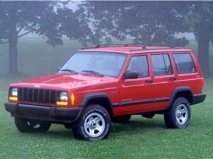 1997 Jeep Cherokee Sport.