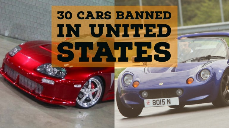 Cars illegal in usa