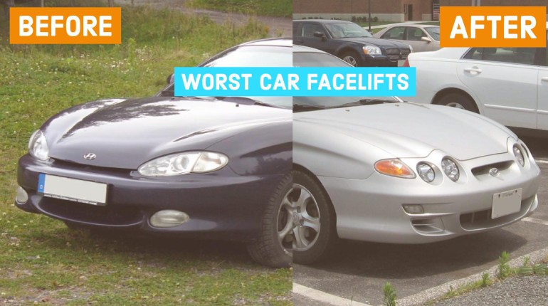 Worst Car Facelifts