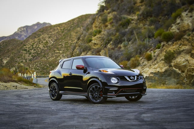 best sports cars under 30k 2017 Nissan Juke Nismo RS