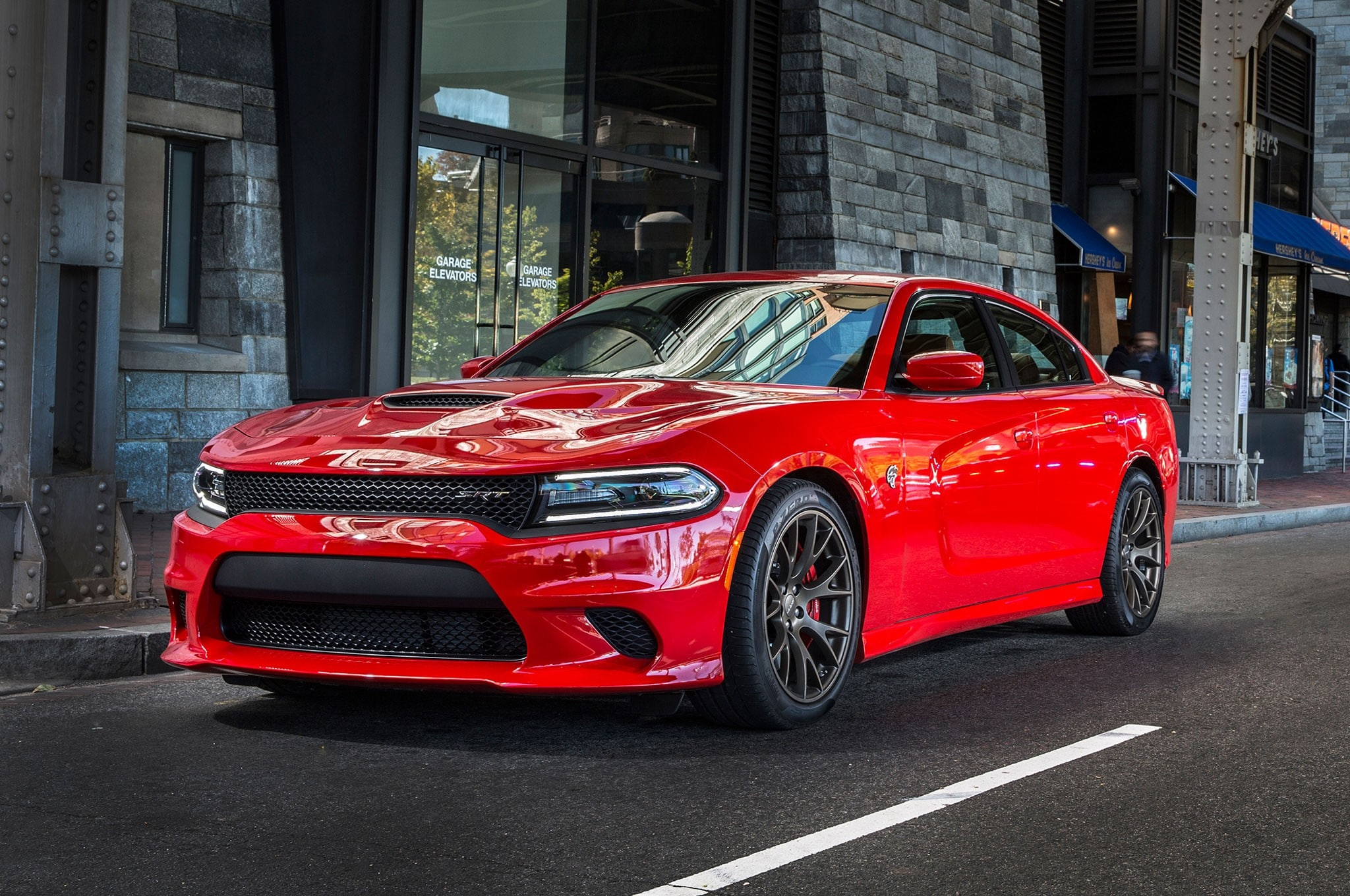 best sports cars under 30k 2018 Dodge Charger SRT8 Red