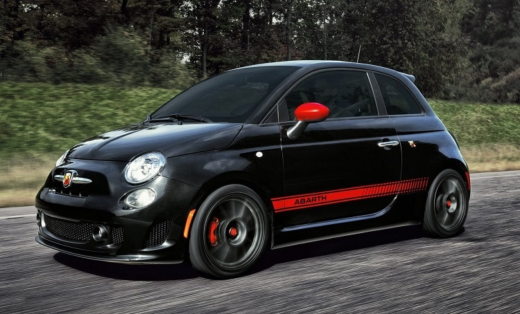 best sports cars under 30k 2018-Fiat-500-Abarth-front