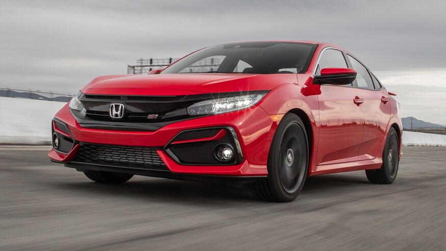 2020-Honda-Civic-Si-cars-under-30k