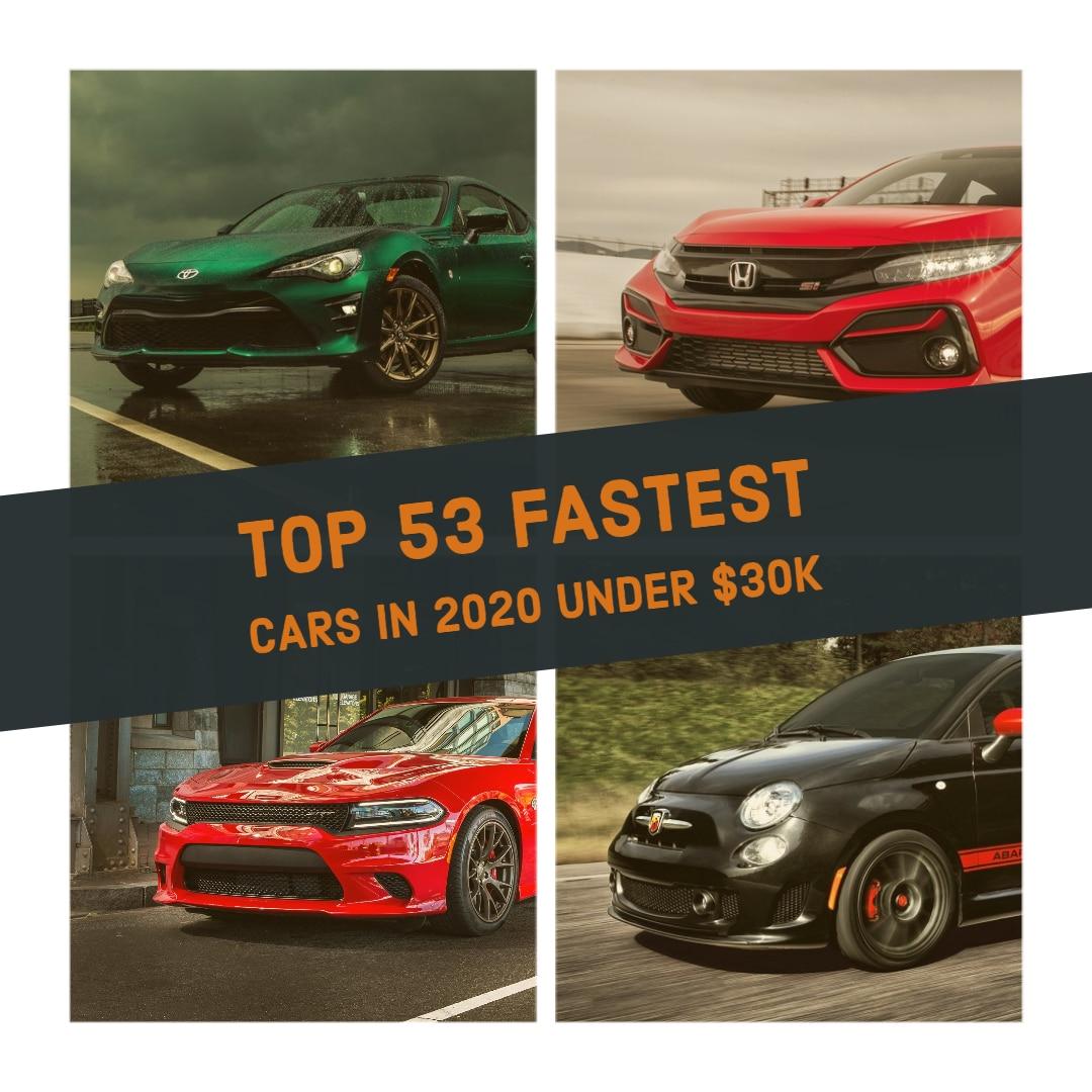 Best Cars Under 30000 - Best Sports Cars Under 30K ($30k) (2020 Guide)