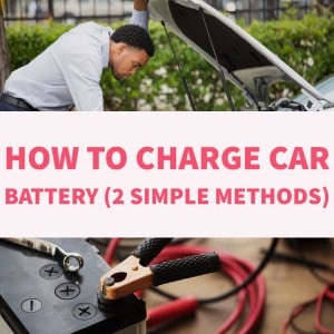 how to charge car battery with jumper and charger