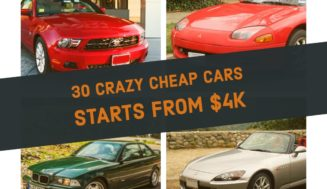 Crazy Cheap Cars – Top 30 List